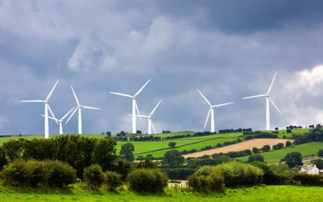 A wind farm near the village of Bothel, Cumbria (Photo: Alamy)